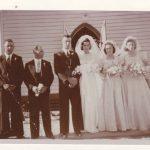 Ida Tuia wedding day to Frank Giudici