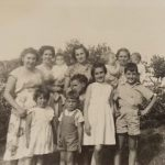 Aurelia, Dolly, Ida, Elsie and children